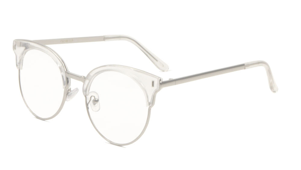 Retro Combination Clear Lens Wholesale Glasses
