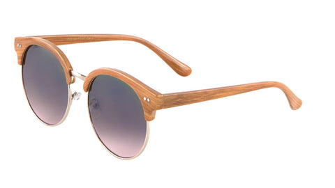 Wood Pattern Combination Flat Oceanic Color Bulk Sunglasses