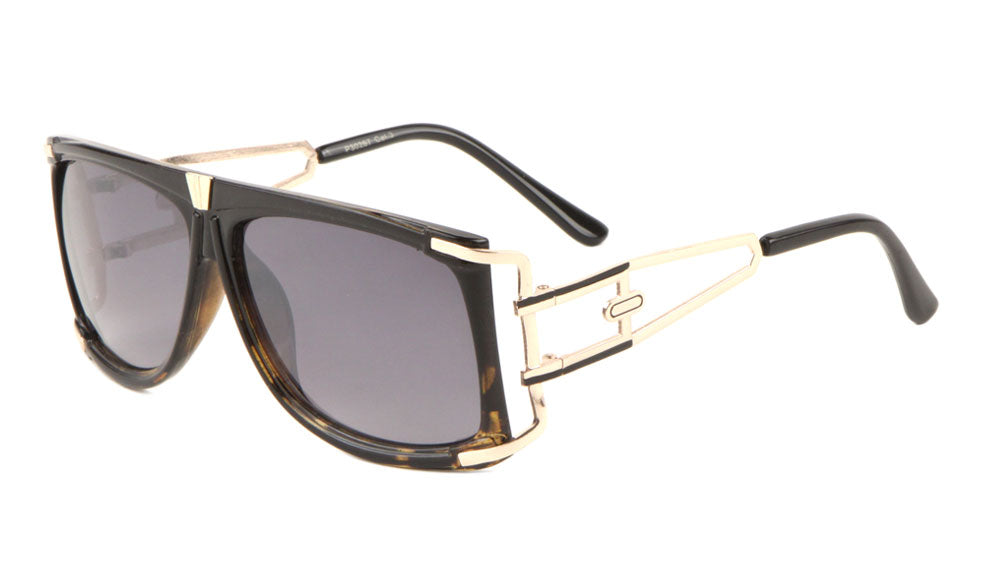 Flat Top Fashion Squared Wholesale Bulk Sunglasses