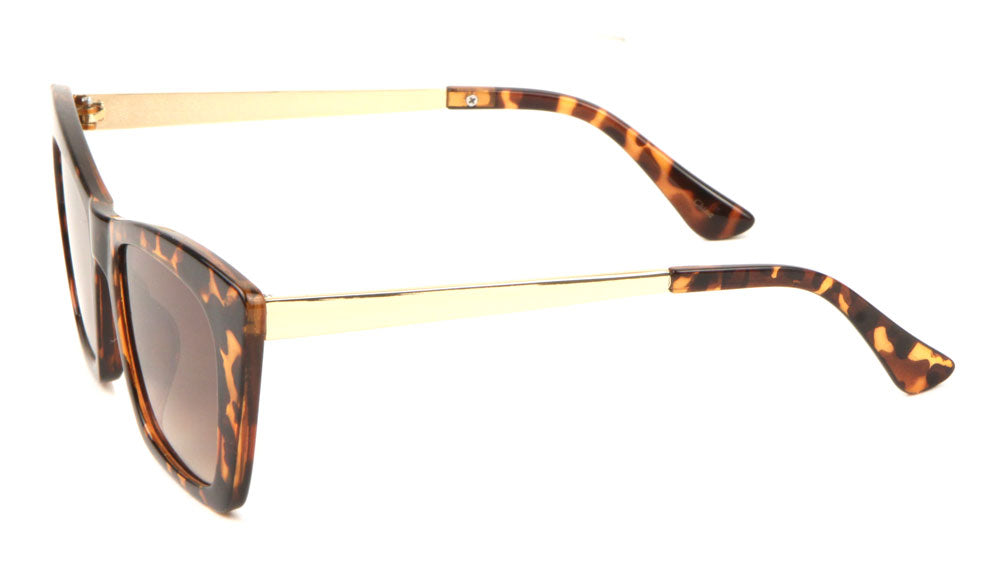 Cat Eye Rectangular Fashion Sunglasses Wholesale