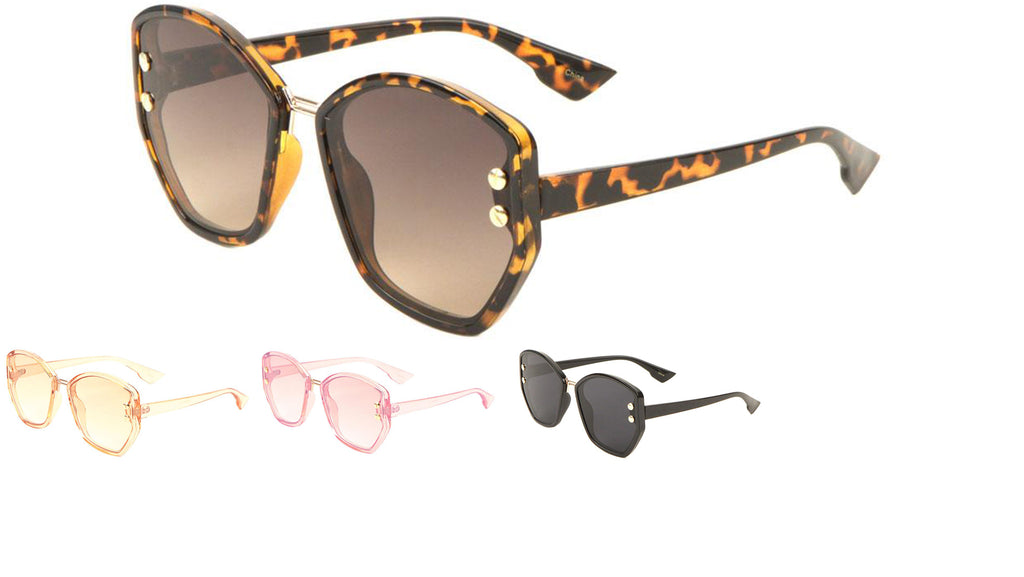 Angled Cat Eye Sunglasses Wholesale