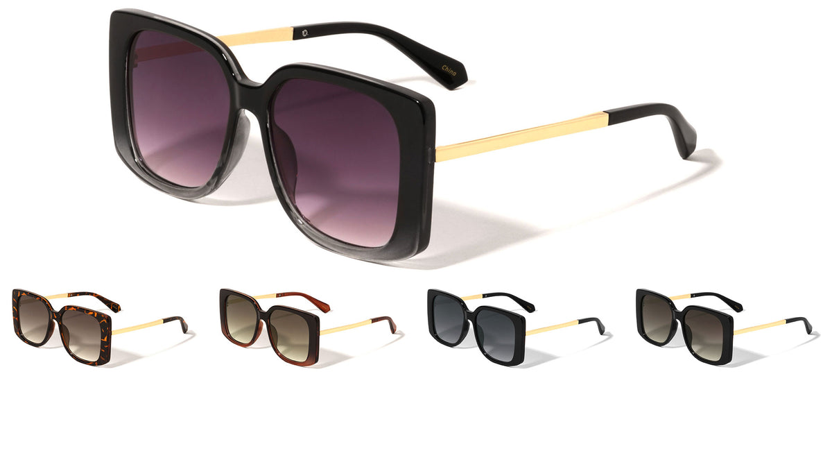 Squared Butterfly Wholesale Sunglasses