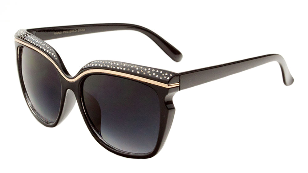 Brow Line Fashion Butterfly Wholesale Bulk Sunglasses – Frontier ...