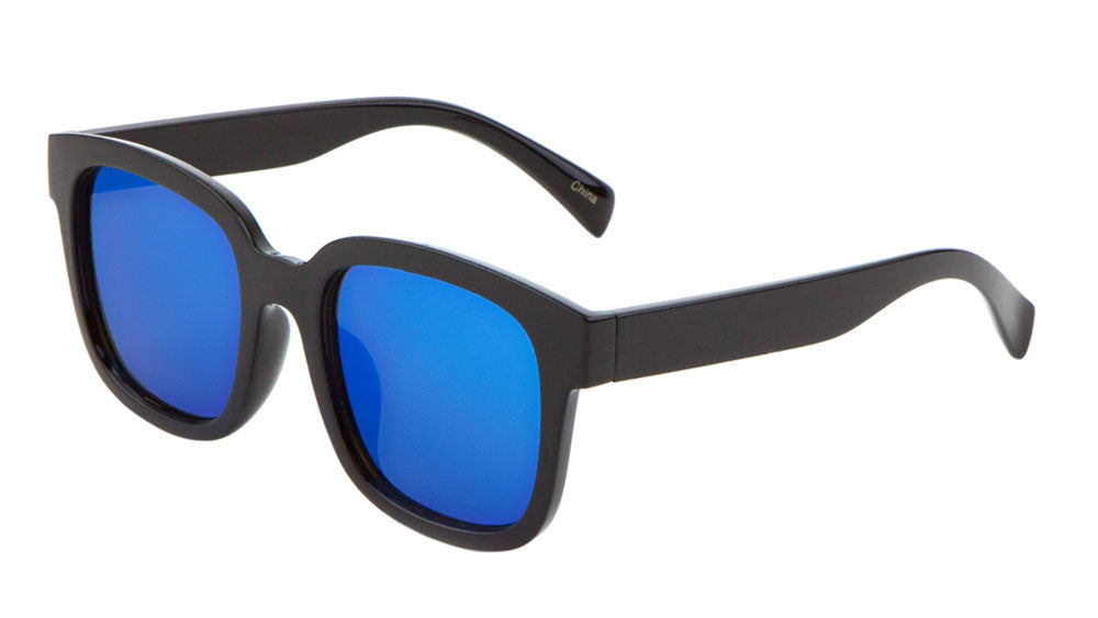 Classic Flat Color Mirror Lens Wholesale Bulk Sunglasses