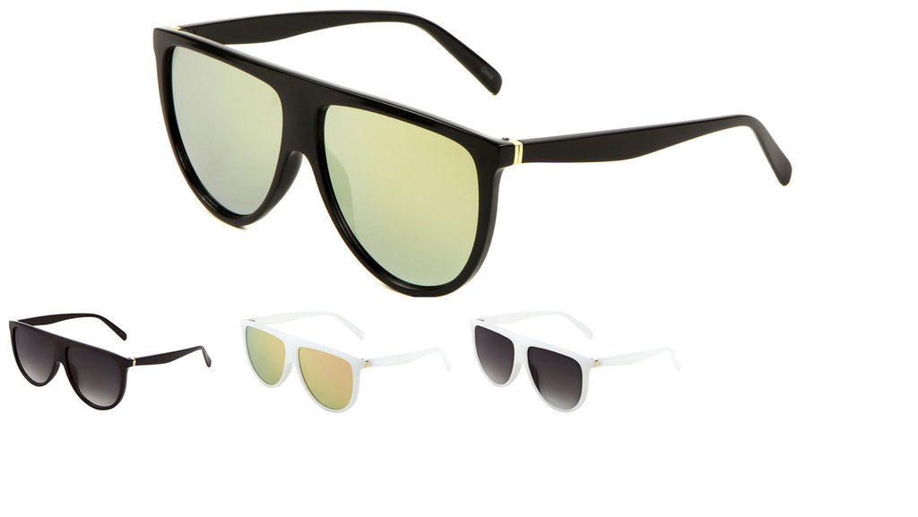 Flat Top Fashion Classic Wholesale Bulk Sunglasses