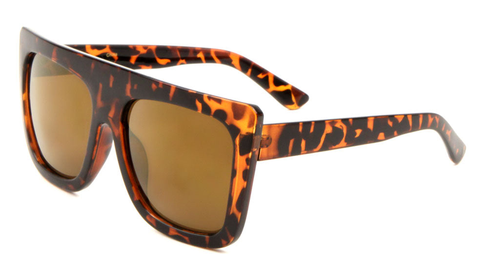 Flat Top Fashion Wholesale Bulk Sunglasses