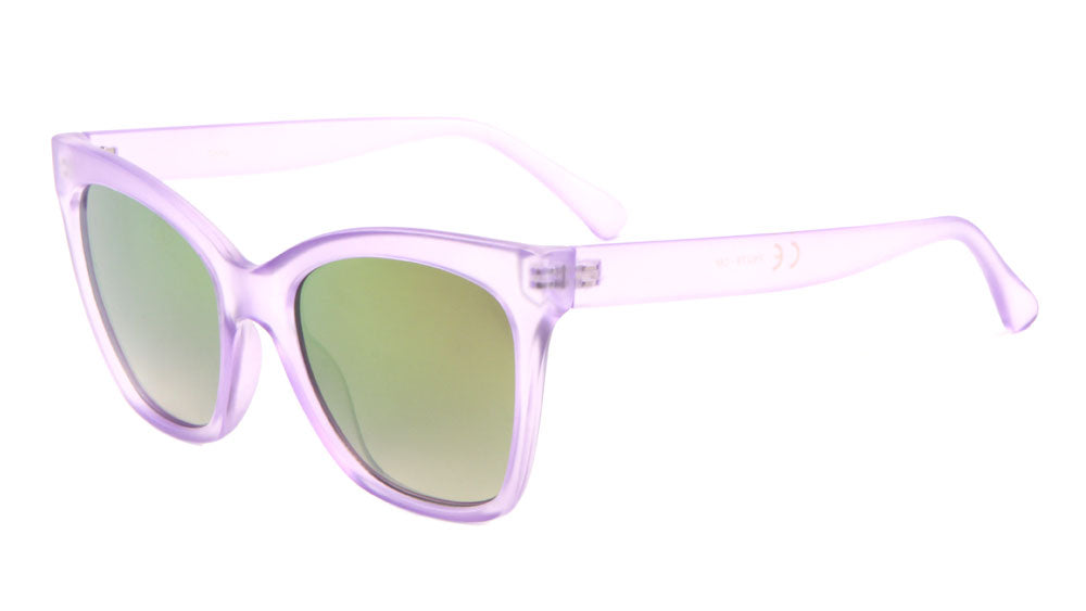 Crystal Color Mirror Lens Wholesale Bulk Sunglasses