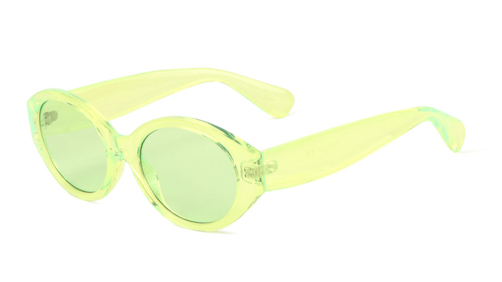 Oval Color Crystal Wholesale Sunglasses