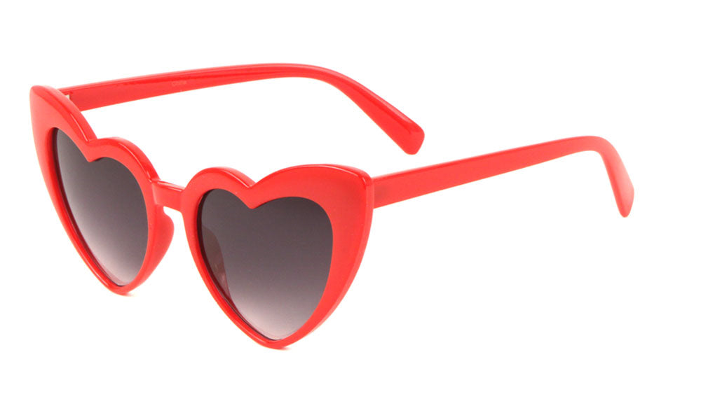 Novelty Heart Shaped Sunglasses Wholesale