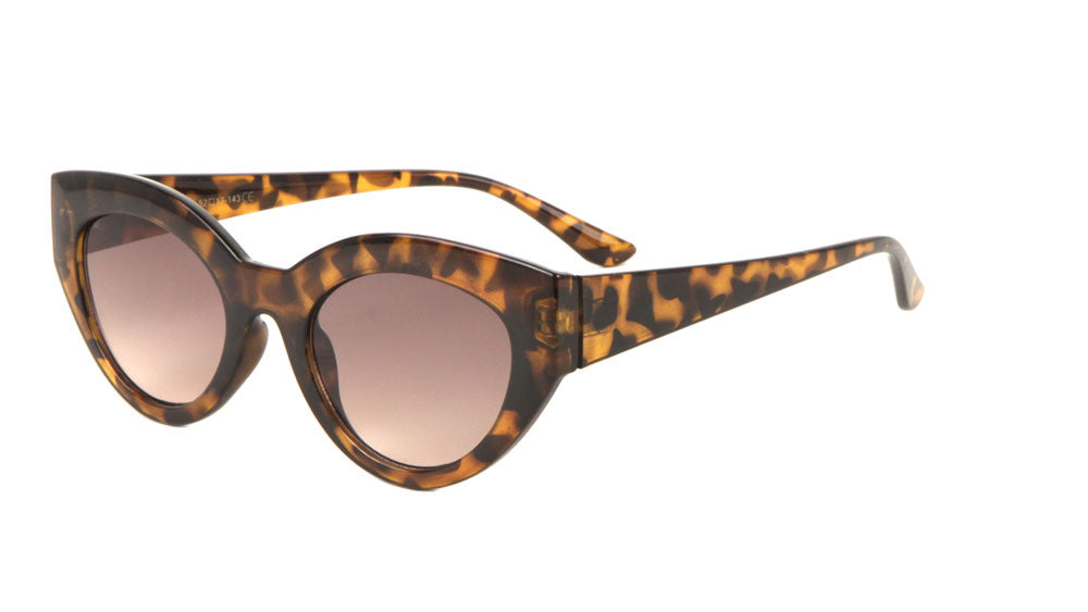 Squared Corner Cat Eye Wholesale Bulk Sunglasses