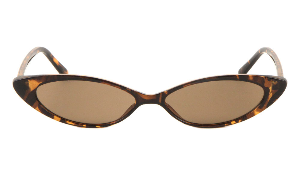 Thin Cat Eye Fashion Wholesale Sunglasses