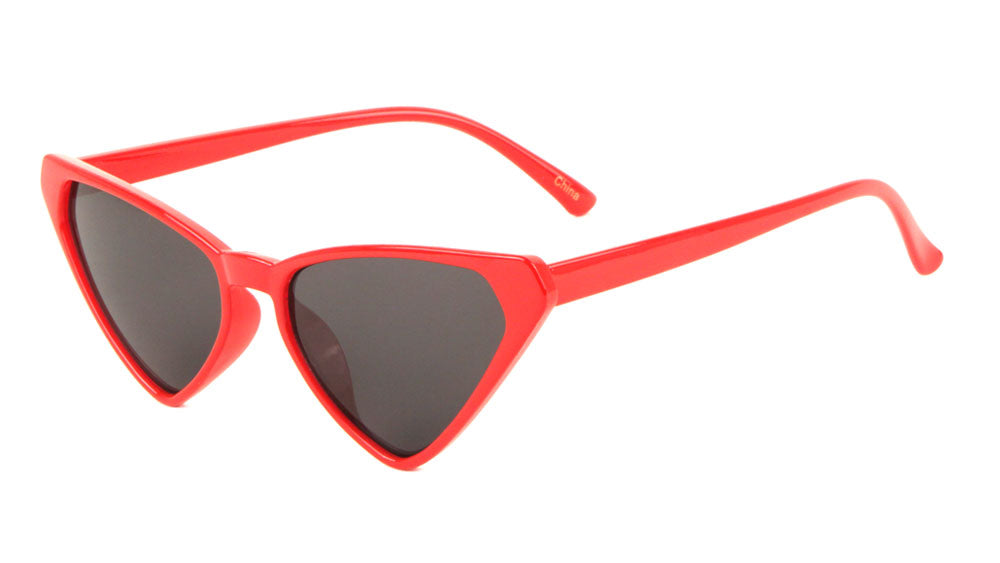 Thin Triangle Cat Eye Sunglasses Wholesale