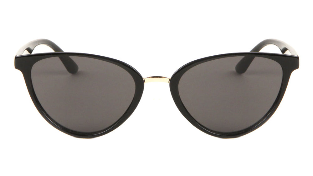 Modern Thin Frame Cat Eye Wholesale Sunglasses