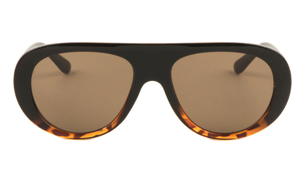 Thick Rim Rounded Fashion Wholesale Bulk Sunglasses