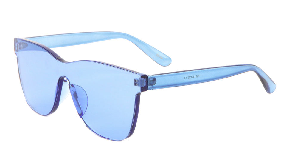 Rimless Retro Color Sunglasses Wholesale