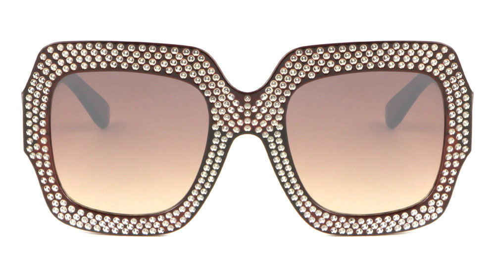 Fake Rhinestone Butterfly Fashion Wholesale Sunglasses