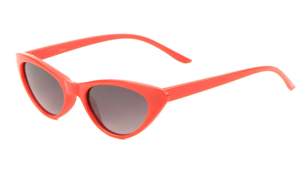 Thin Cat Eye Fashion Wholesale Bulk Sunglasses