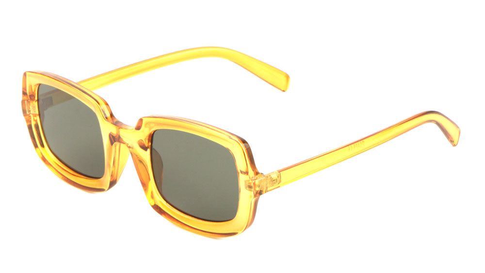 Crystal Squared Sunglasses Wholesale