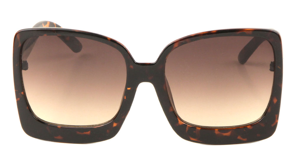 Thick Rim Squared Butterfly Sunglasses Wholesale