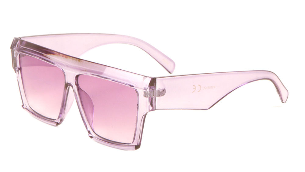 Crystal Color Oversized Classic Sunglasses Wholesale