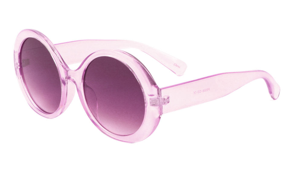Oversized Oval Color Crystal Sunglasses Wholesale
