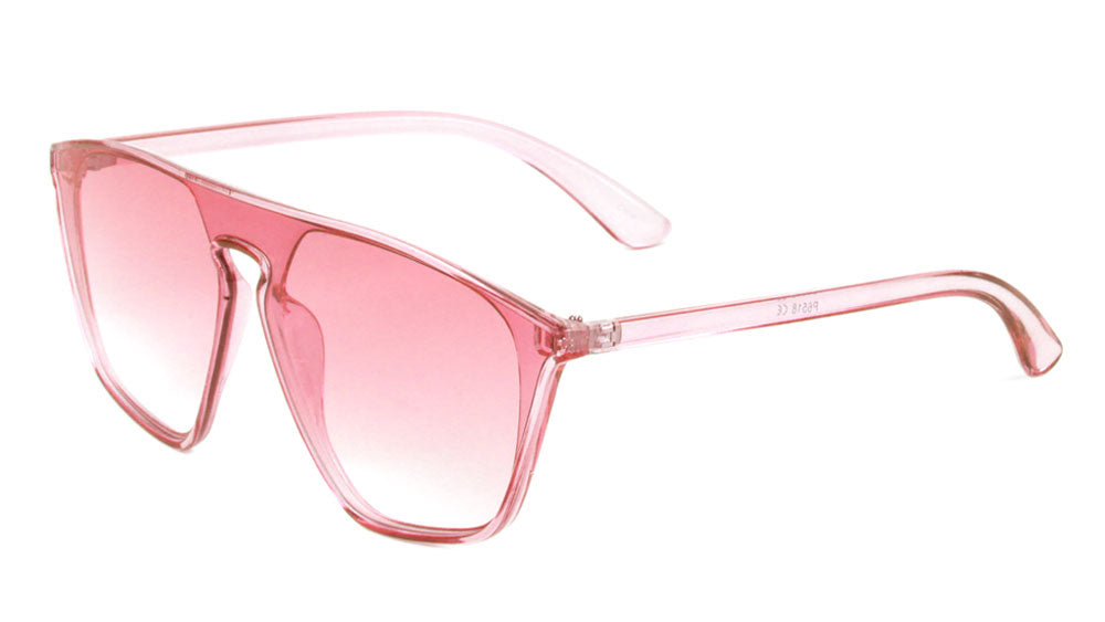Crystal Color Shield Lens Sunglasses Wholesale