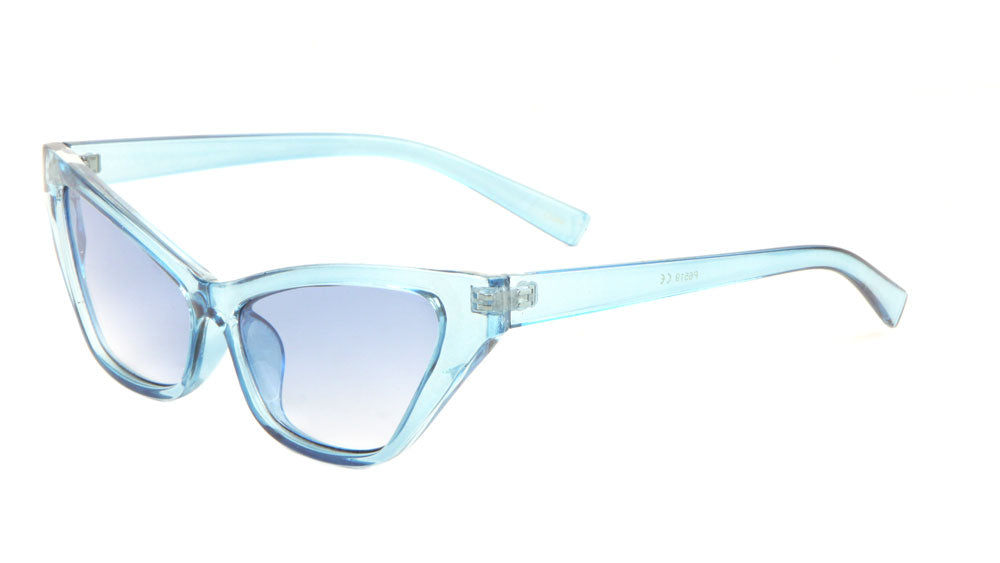 Crystal Color Cat Eye Fashion Sunglasses Wholesale