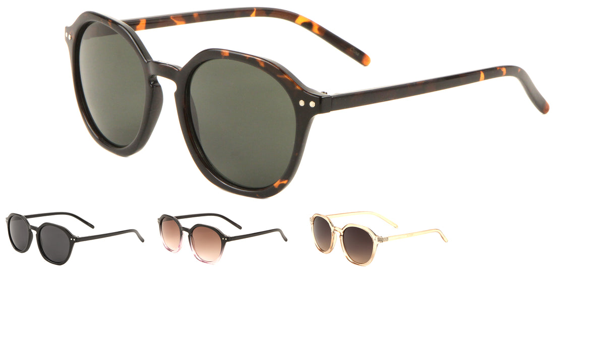 Designer Thin Retro Sunglasses Wholesale