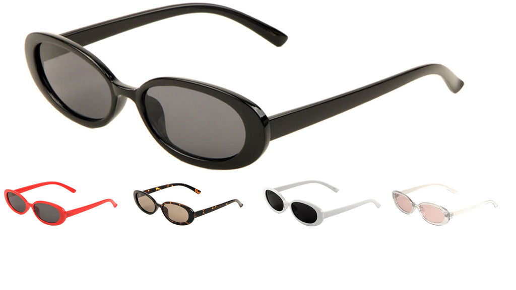 Thin Oval Sunglasses Wholesale