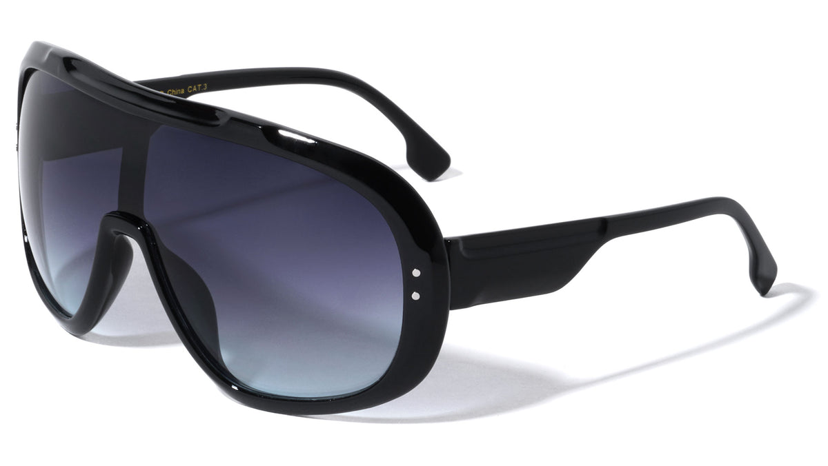 Oversized Shield Wholesale Sunglasses