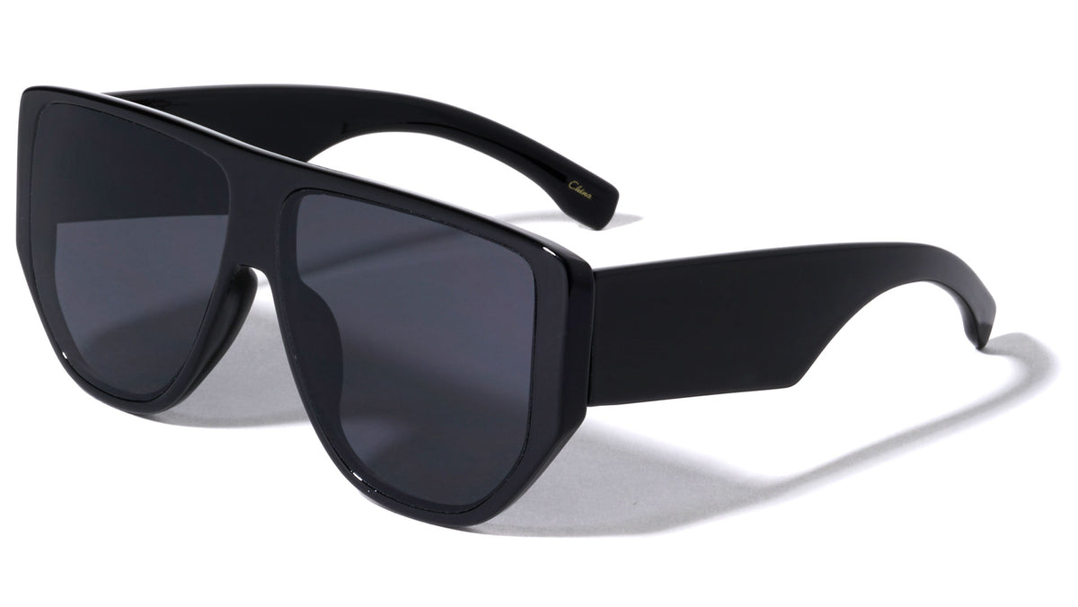 Thick Temple Oversized Wholesale Sunglasses