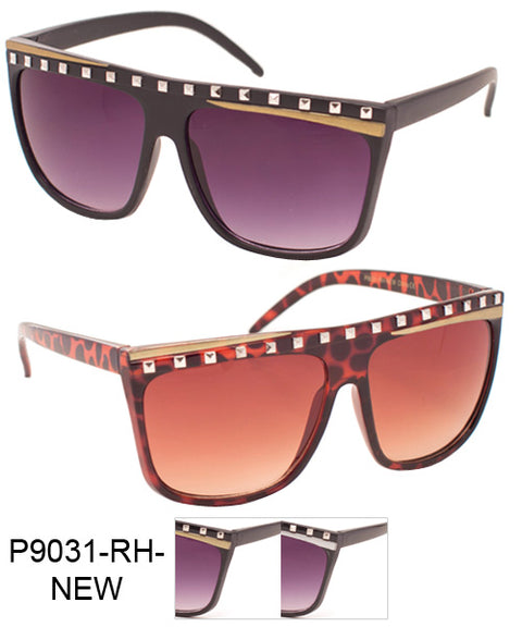 Rhinestone Flat Top Wholesale Sunglasses