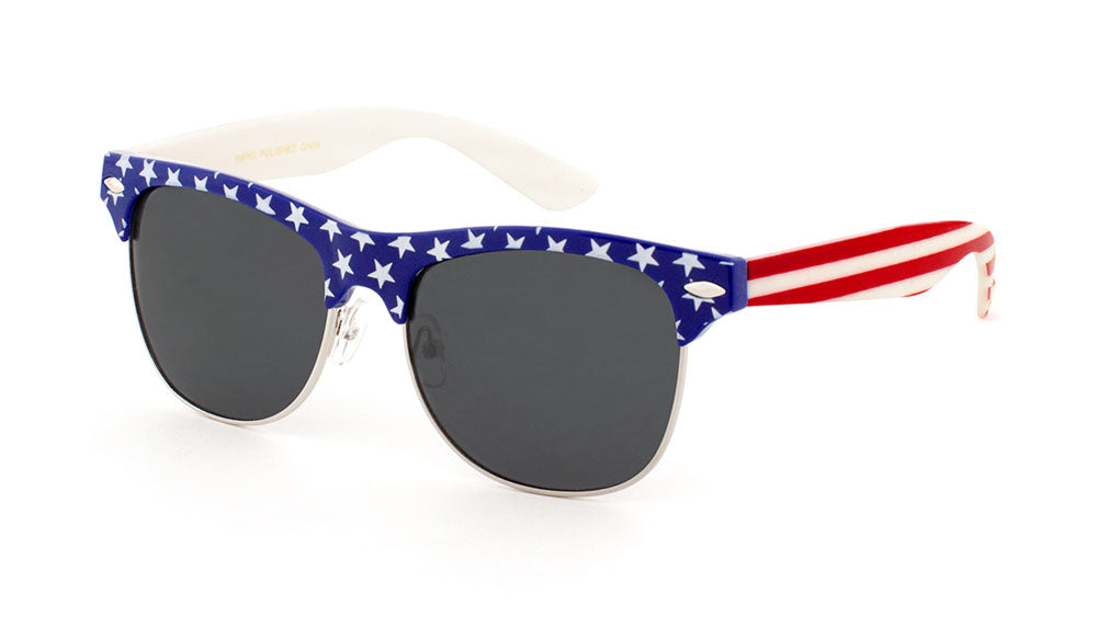Combination American Flag Wholesale Bulk Sunglasses