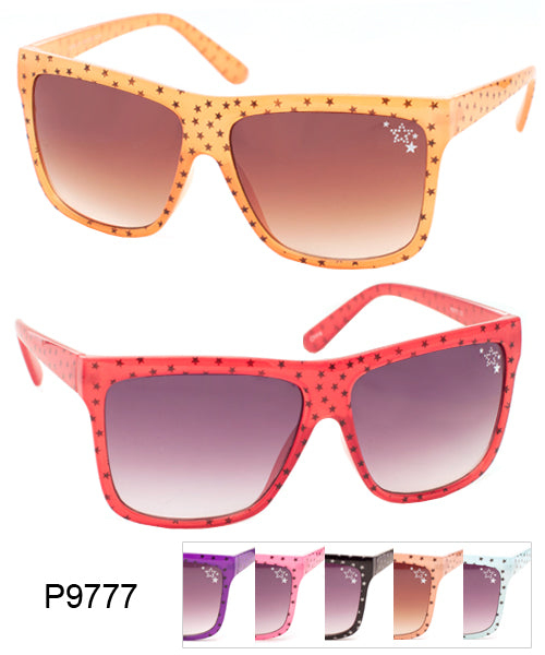 Star Pattern Classic Wholesale Sunglasses