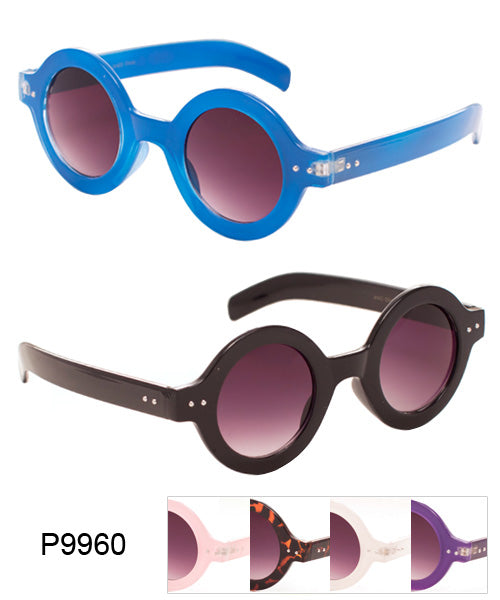 Round Retro Wholesale Bulk Sunglasses
