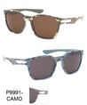 Classic Camouflage Metal Accent Wholesale Sunglasses
