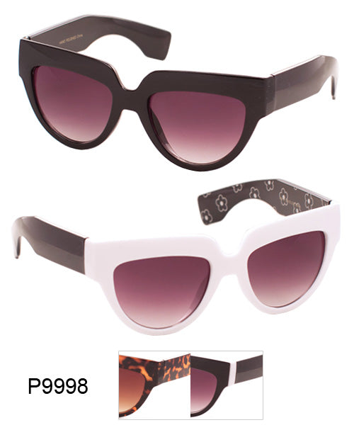 Squared Cat Eye Wholesale Sunglasses