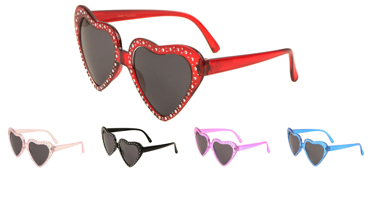 Party Heart Stud Sunglasses