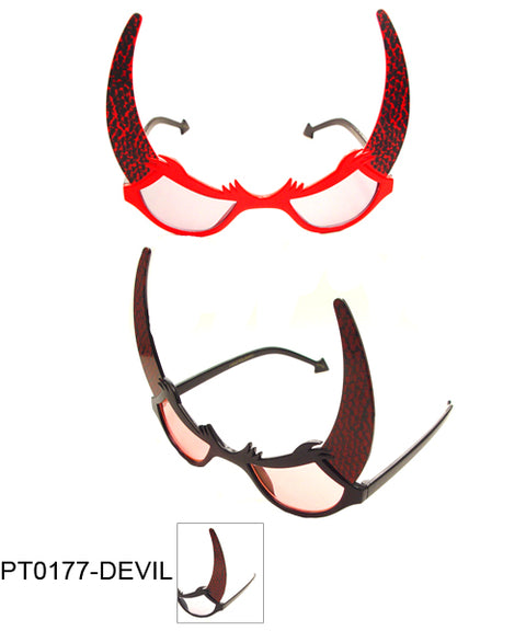 Devil Party Glasses