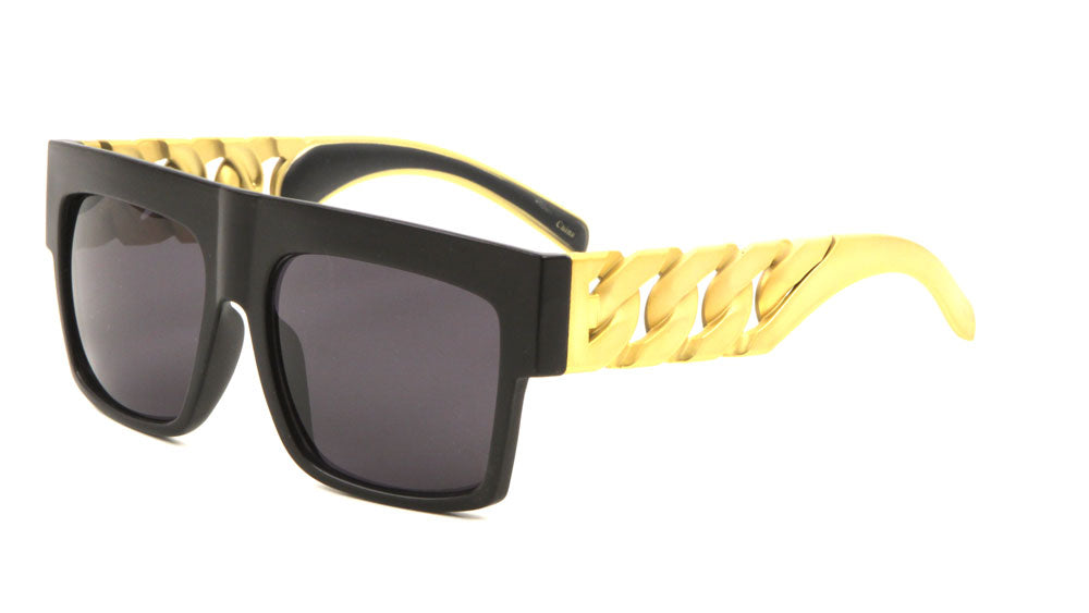 Party Chains Flat Top Sunglasses