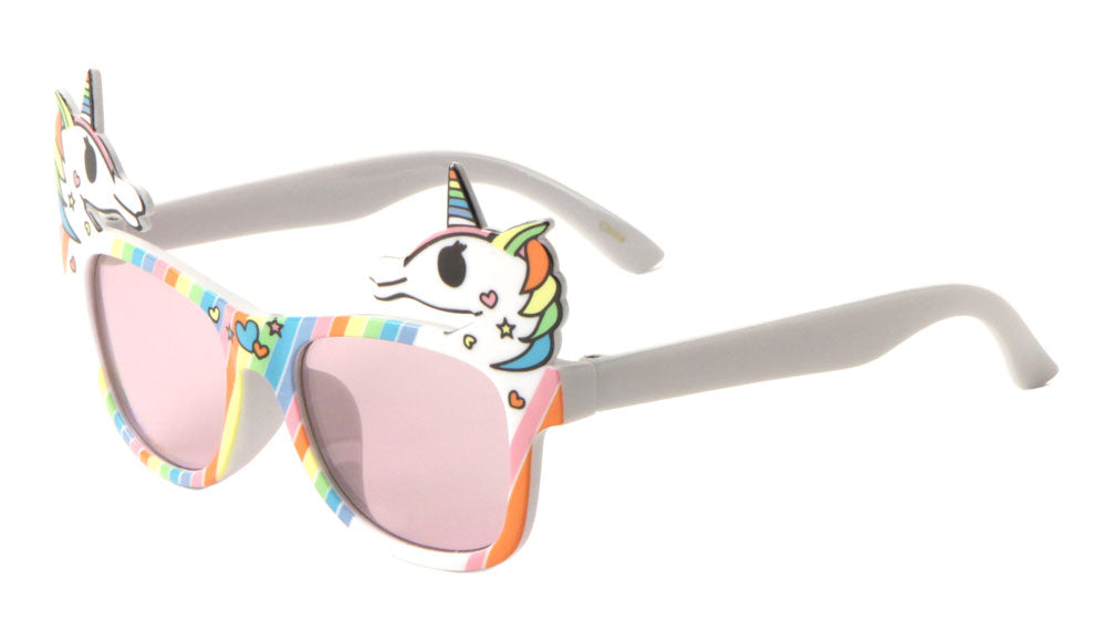 Classic Rainbow Unicorn Bulk Wholesale Sunglasses