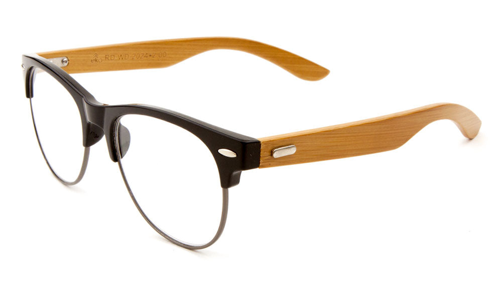 EKO Wood Combination Reading Lens Wholesale Bulk Glasses