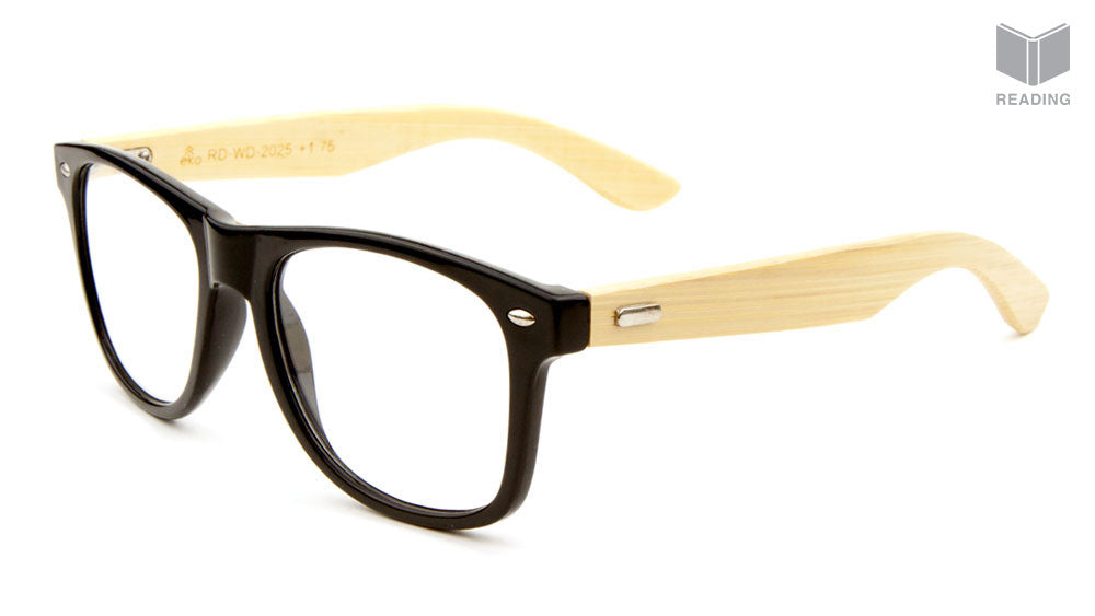 EKO Wood Temple Reading Glasses Wholesale