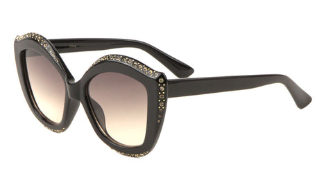 Rhinestone Cat Eye Wholesale Bulk Sunglasses