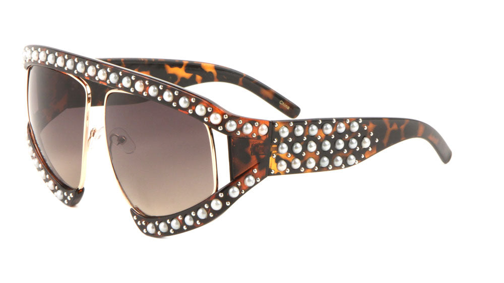 Rhinestoned Fashion Sunglasses Wholesale