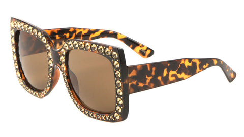 Rhinestone Butterfly Fashion Wholesale Sunglasses