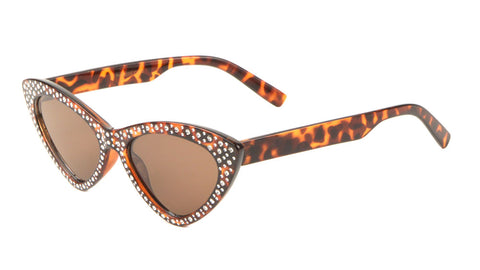 RH-3233 - Rhinestone Cat Eye Sunglasses Wholesale