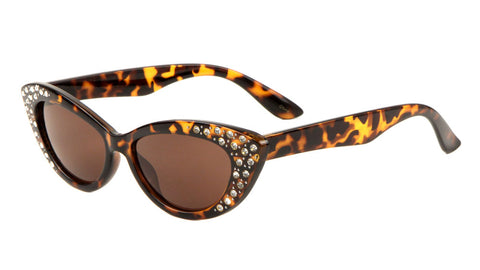 Rhinestone Cat Eye Sunglasses Wholesale
