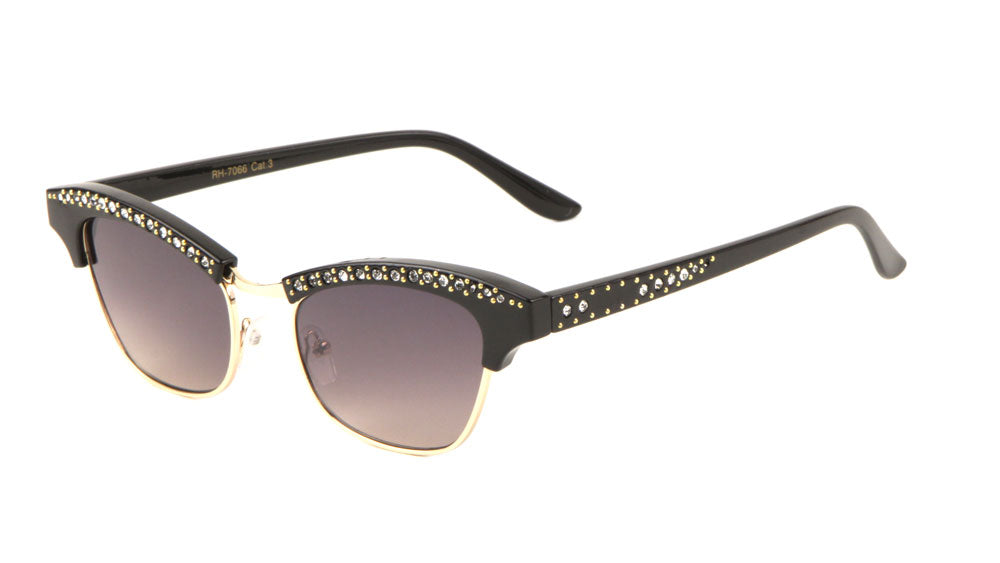 Rhinestone Combination Fashion Sunglasses Wholesale