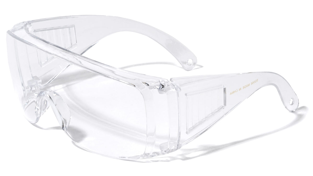 Safety Goggles Wholesale Clear Eyewear